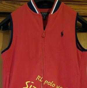Ralph Lauren Boys zipper vest